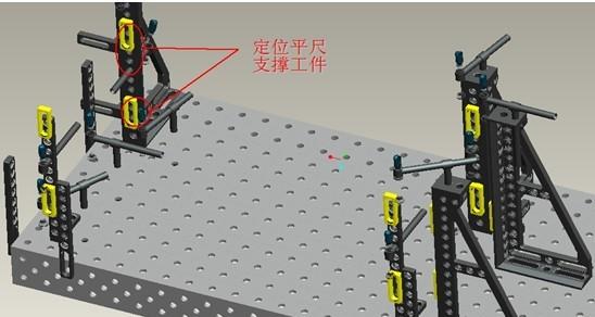 钢式车架焊接图纸